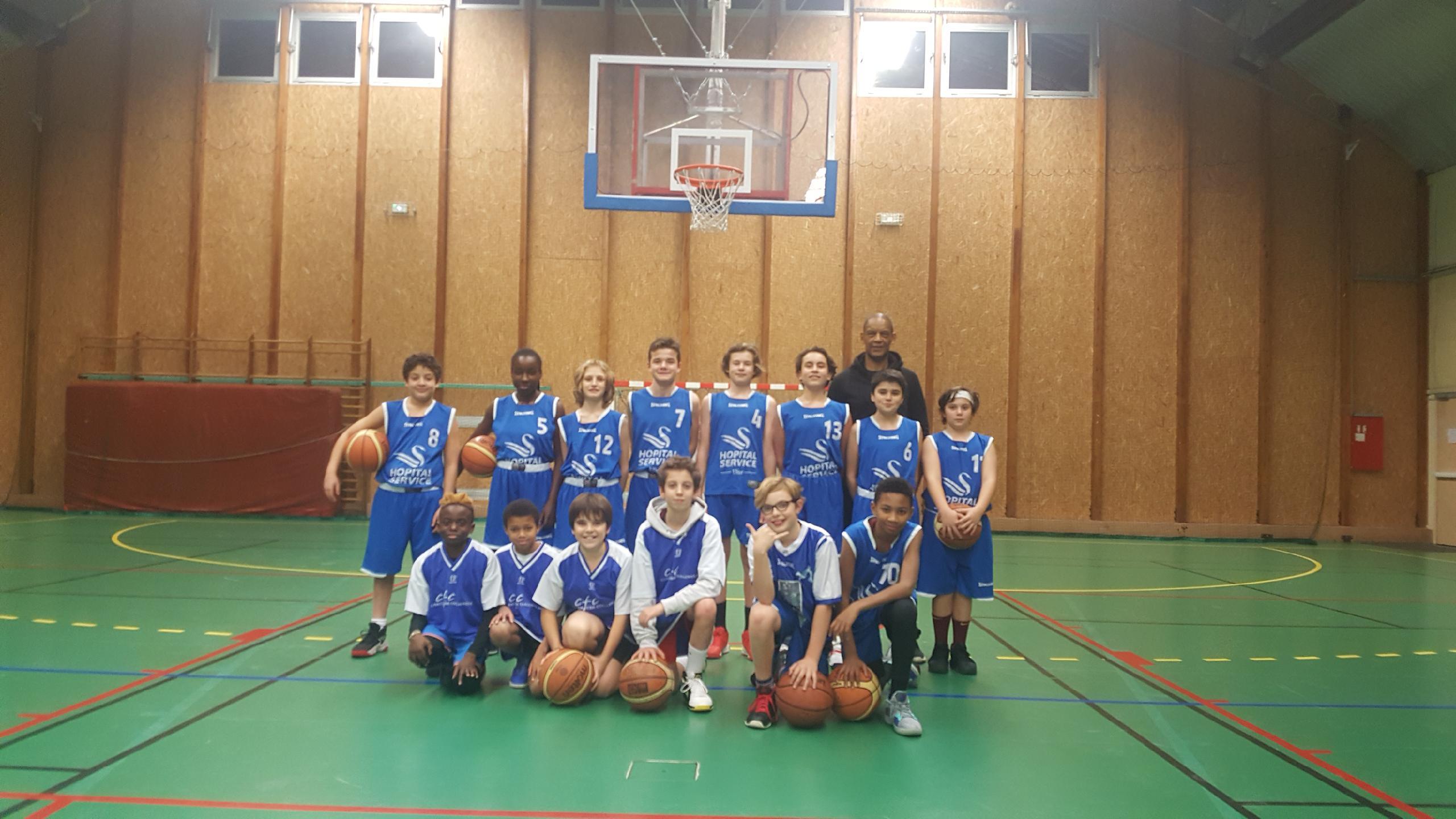 Issy Basket Club - Benjamins 1