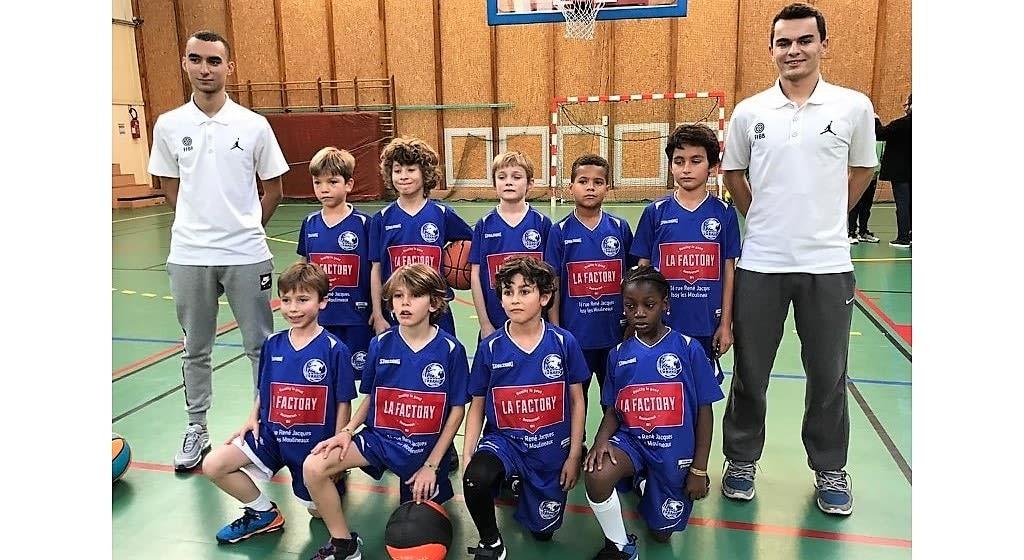 Issy Basket Club - Mini-Poussins 1